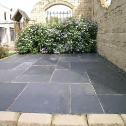 Slate For Patios Slabs by Pavestone Paving Slate Midnight Paving Slabs Single Size