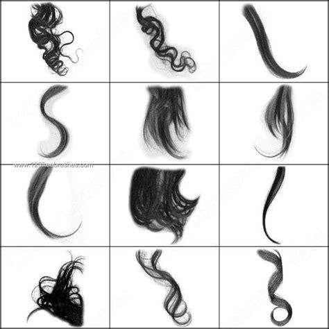 short wavy hair photoshop brushes curly hair brushes photoshop photoshop free brushes
