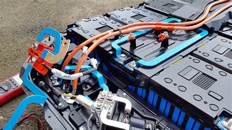 mitsubishi outlander phev battery outlander phev battery disassembly