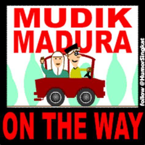 mudik ke madura on the way gambar humor dp bbm lucu