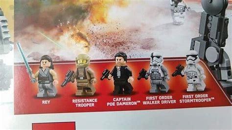 Starwars Assault Walker Marcheur Dassaut Hasbro les derniers jedi une fuite de sets lego d 233 voile le marcheur et le costume de snoke