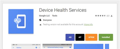 system health apk apk magic uploads its device health services system app to the play store