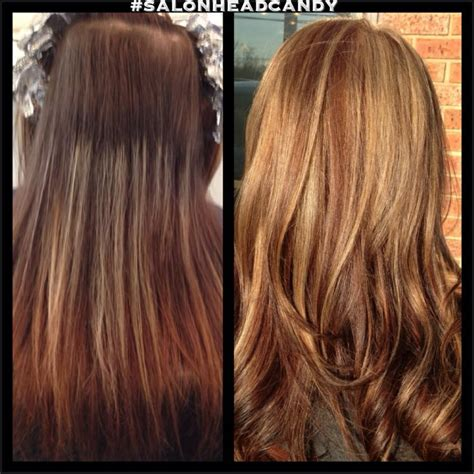 lowlights vs highlights brunettes amazing before after by alexis full highlight a new