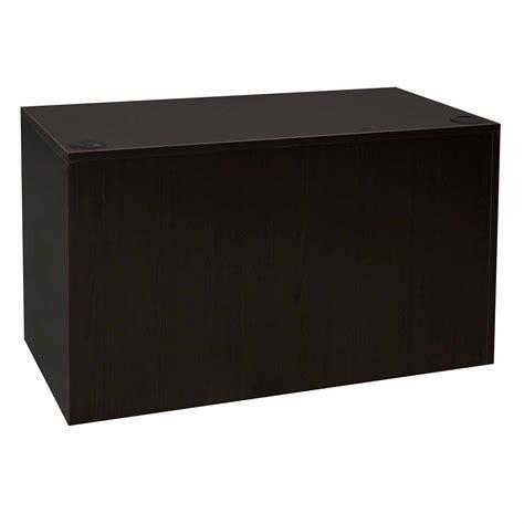 24 x 48 desk everyday 24 215 48 single pedestal laminate desk espresso