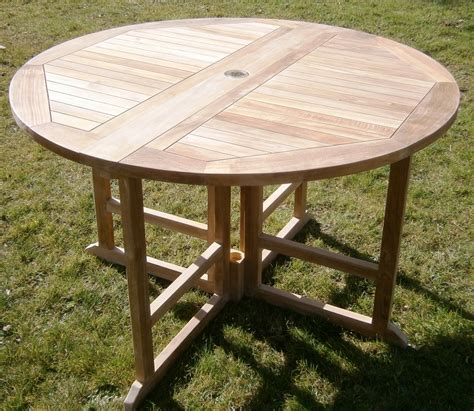 Gateleg Patio Table 4ft Teak Gateleg Garden Table By Chairs And Tables Luxury Teak Garden Furniture Chairs
