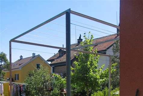 pergola metall freistehend metall werk z 252 rich ag pergola wohnhaus wallisellen