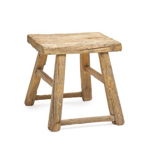 hocker altholz aus massivem altholz artiana - Schemel Altholz