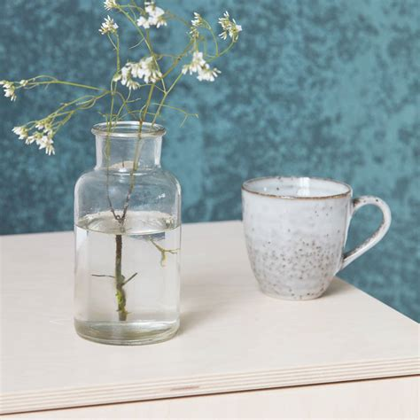Glass Jar Vase by Glass Jar Vase By All Things Brighton Beautiful