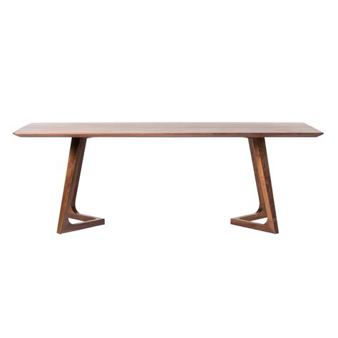 Cheap Walnut Dining Table Godenza Dining Table Rectangular Walnut Products Moe S Wholesale