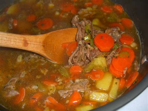 vegetables beef soup really vegetable soup recipe dishmaps