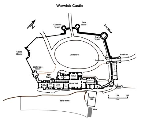 warwick castle floor plan file warwick castle plan svg military wiki fandom