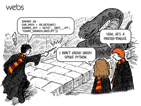 Funny Programming Memes - harry speaks python the meta picture