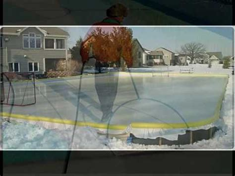 How To Flood A Backyard Rink by Rink Flooding A Backyard Pond Skating Rink By