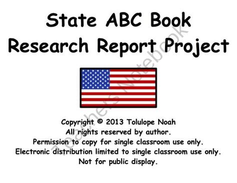 abc book report 51 best state project az images on social