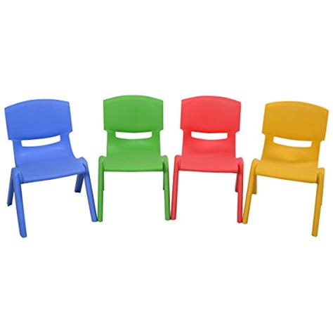 Toddler Plastic Chair - costzon table and chairs set plastic learn and play