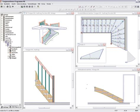 staircase design software cnc router and machining centers bmg 500 600 staircase production