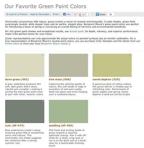 benjamin moore shades of green pin by belle etoile on walls pinterest