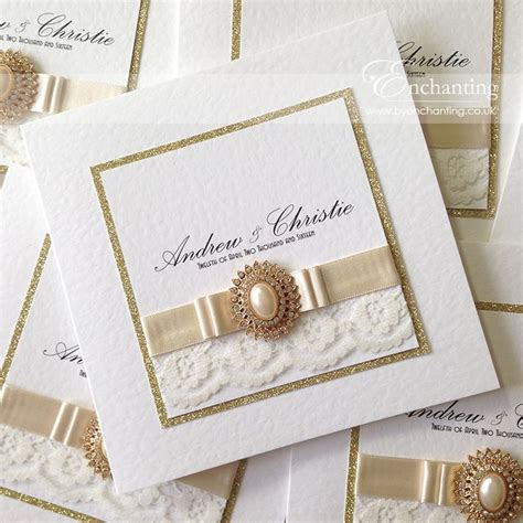 Wedding Invitation Ribbon Ideas