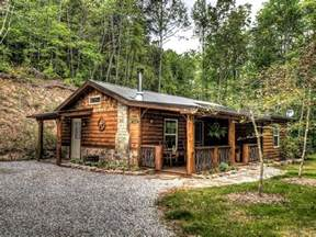Hillside Cabin Plans two bedroom rustic log cabin rental in the mountains near