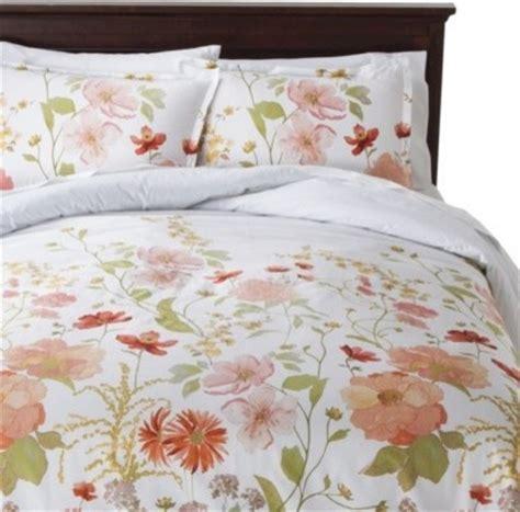 threshold bedding threshold multi floral comforter set traditional