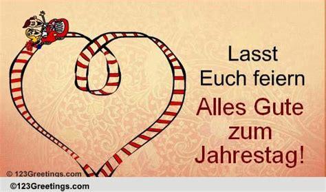 wedding wishes german german jahrestag cards free german jahrestag wishes