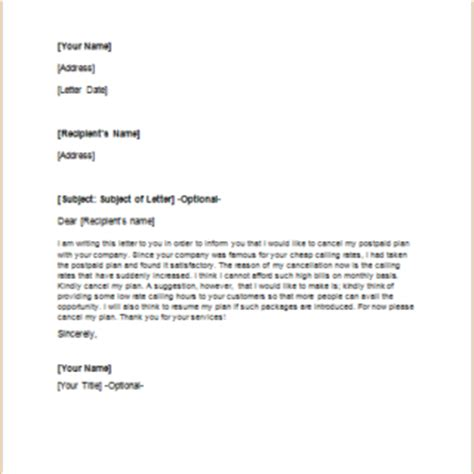 Cancellation Letter Due To Late Delivery Formal Official And Professional Letter Templates Part 7
