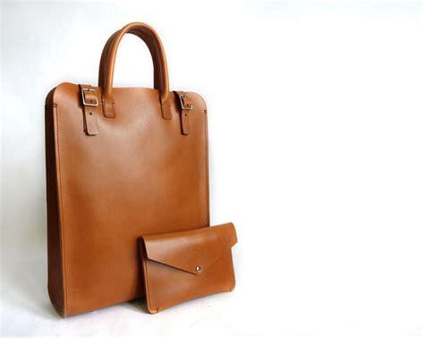 Handmade Leather Tote Bags - handmade leather tote bag handmade carryall basader