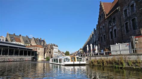 boat cruise ghent ghent boat cruise belgium visions of travel