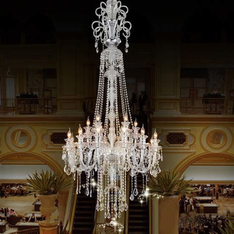 large candle chandelier big chandelier luxury