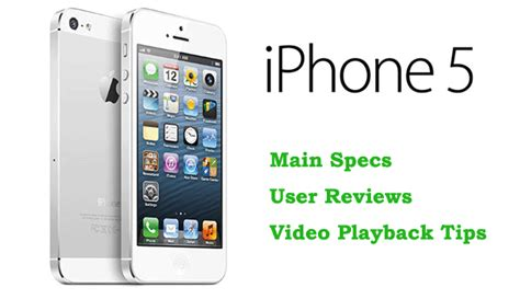 iphone 5 guide get iphone 5 specs playback