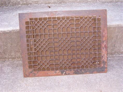 Cast Iron Floor Grate by Square Cast Iron Floor Grate