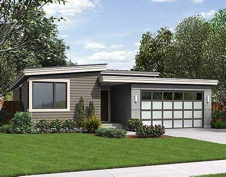 single story modern cottage in israel plan 69547am one story contemporary for a small lot car
