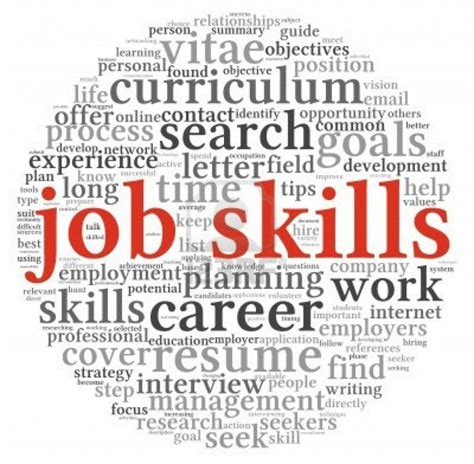 Skill With important skills needed in every redwigwam