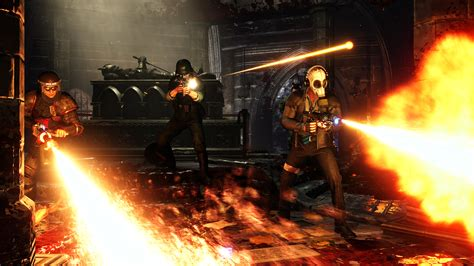 killing floor 2 ps4 pro trailer shows off system s power den of geek