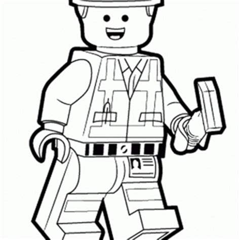 The Lego Movie Coloring Pages Birthday Printable Emmet Coloring Pages