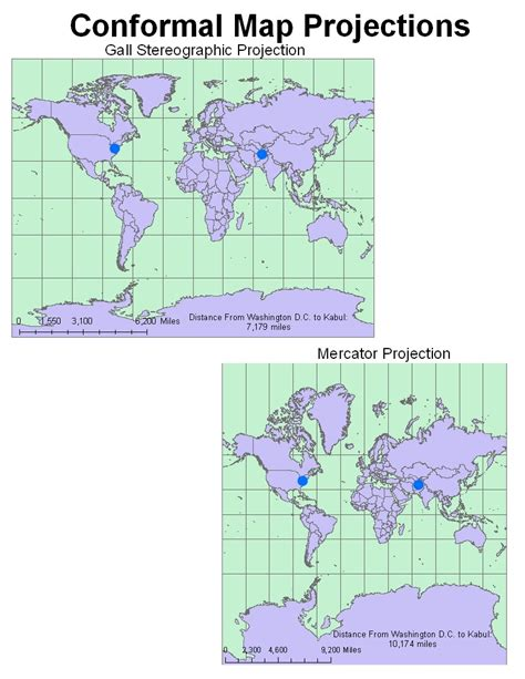 map projection geography is the use of different map projections week 6 lab