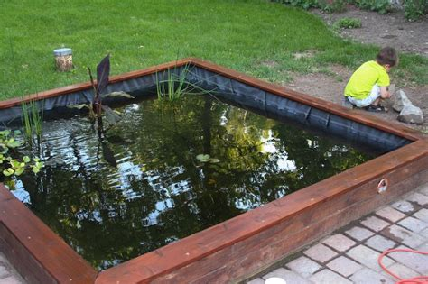 diy koi pond diy 1 100 gallon koi pond looks great and not that
