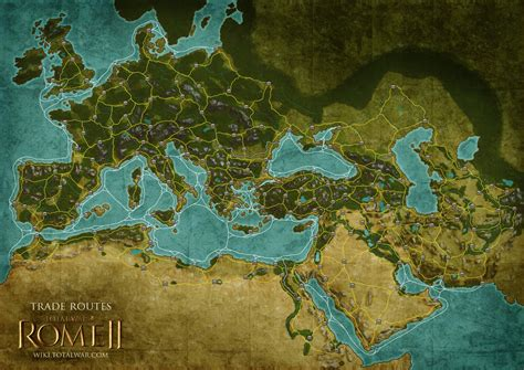 rome total war map trade routes twr2 total war wiki