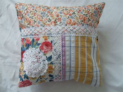 Patchwork Cushion Covers - patchwork doily cushion covers meeni