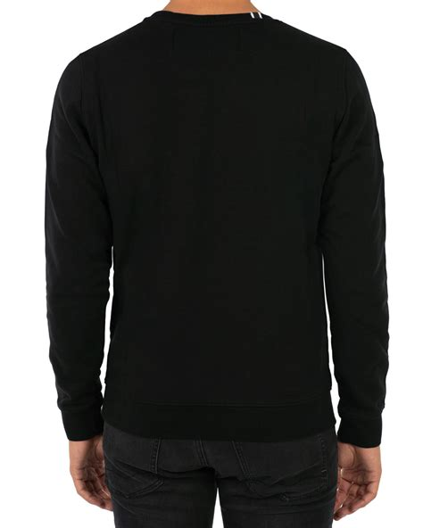 Replay Sweatshirt replay crew neck sweatshirt black hos careofcarl