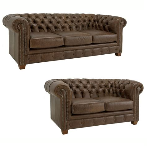 three seater brown leather chesterfield sectional sofa brown leather tufted chesterfield three seater sofa plus