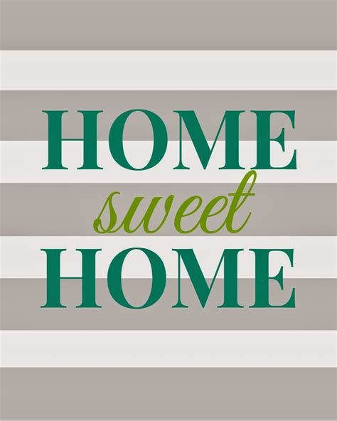 free home decor nikkis nacs home sweet home free printable