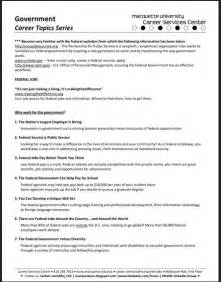 Job Resume Examples Usa by Usa Jobs Federal Resume Example