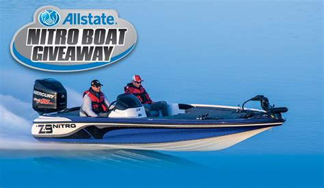 Boat Giveaway 2014 - java john z s allstate nitro boat giveaway