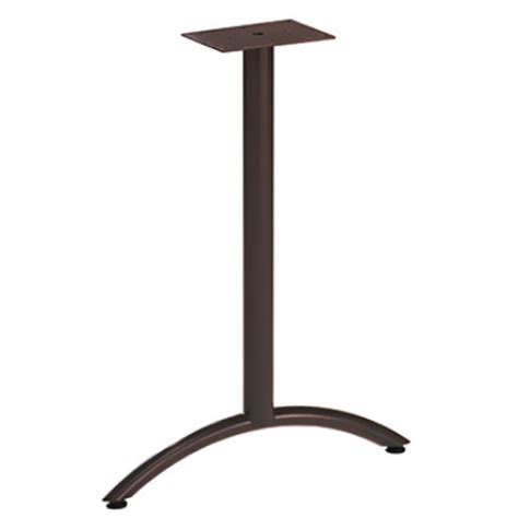 Gibraltar Table Bases by Arched T Shaped Table Legs By Durable