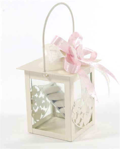 candele per bomboniere bomboniere comunione lanterne per candele con farfalla