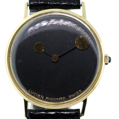 lucien piccard 14k gold vintage mens raymond