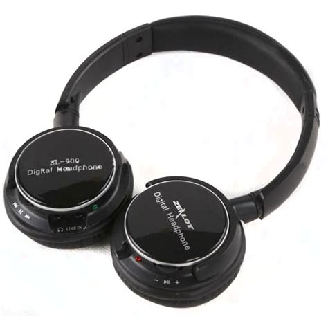 Zealot N85 Headphone With Fm Radio Tf Slot Mic zealot zl 900 headphone hifi bass with fm radio tf slot black jakartanotebook