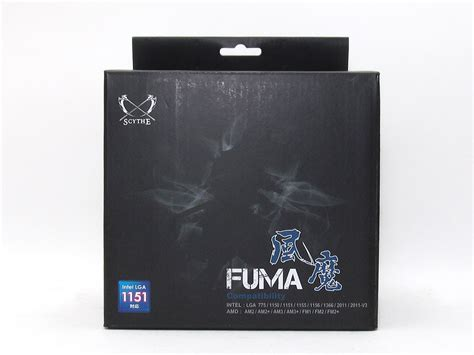 Fuma Box scythe fuma review techpowerup
