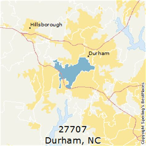 zip code map durham nc best places to live in durham zip 27707 north carolina